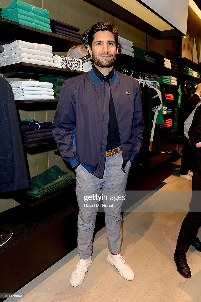 Kayvan Novak attends the Lacoste Store Reopening on May 28, 2014 in London, England.