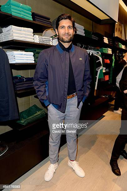 Kayvan Novak attends the Lacoste Store Reopening on May 28 2014 in London England