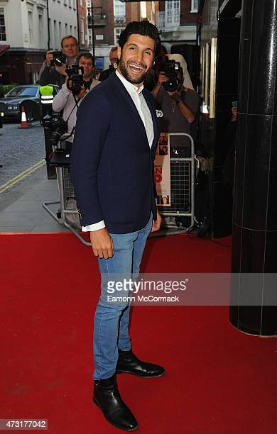 Kayvan Novak attends the UK Gala screening of 'Man Up' at The Curzon Mayfair on May 13 2015 in London England