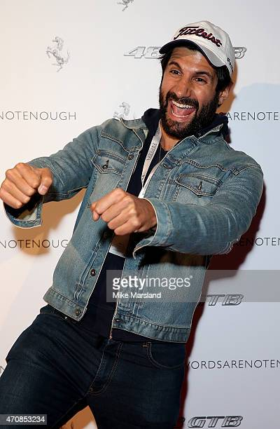 Kayvan Novak attends the UK launch event for the newest addition to Ferrari the 488 GTB at The Old Sorting Office on April 23 2015 in London England