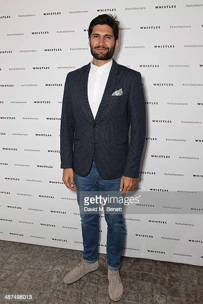 Kayvan Novak attends the Whistles menswear launch dinner on April 30 2014 in London England