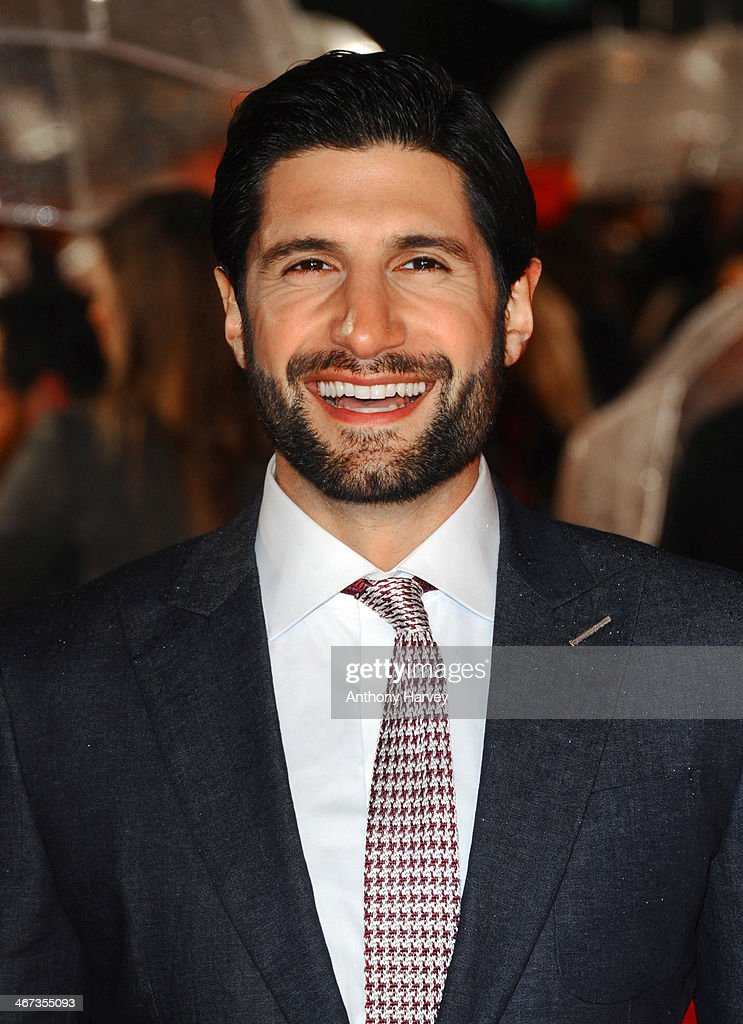 Kayvan Novak attends the World Premiere of 'Cuban Fury' at Vue Leicester Square on February 6, 2014 in London, England.