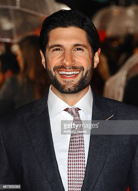 Kayvan Novak attends the World Premiere of 'Cuban Fury' at Vue Leicester Square on February 6 2014 in London England