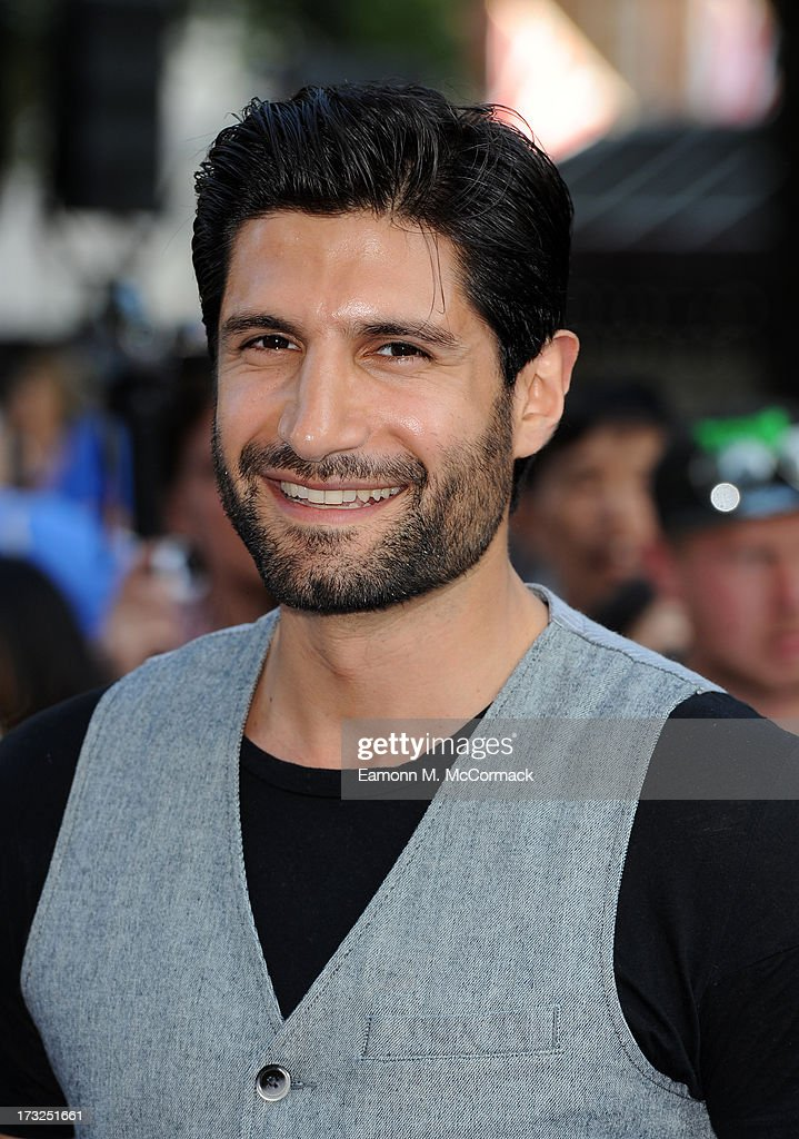 Kayvan Novak attends the World Premiere of 'The World's End' at Empire Leicester Square on July 10, 2013 in London, England.