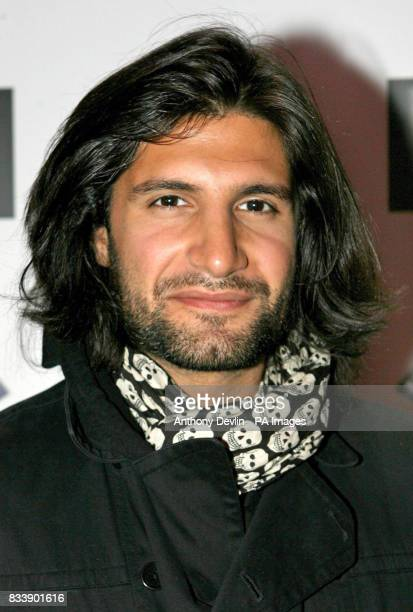 Kayvan Novak from Fonejacker poses for the media at the British Comedy Awards 2007 at the Soho Hotel in London