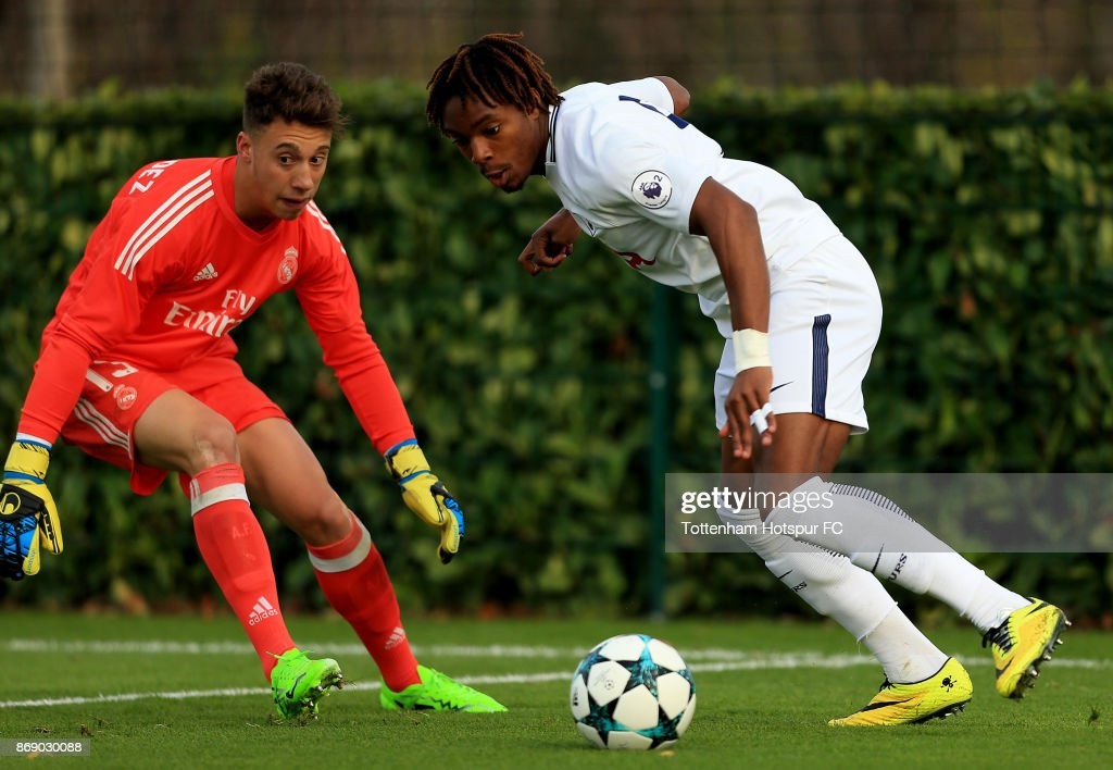 Tottenham Hotspur v Real Madrid - UEFA Youth League