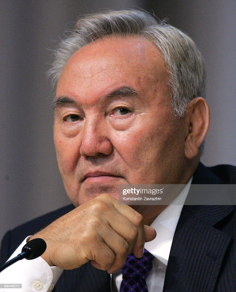 Kazakh President Nursultan Nazarbayev attends in the EURASEC Summit in Minsk, Belarus. Leaders of former Soviet republics have gathered in Minsk for an economy and customs cooperation summit.