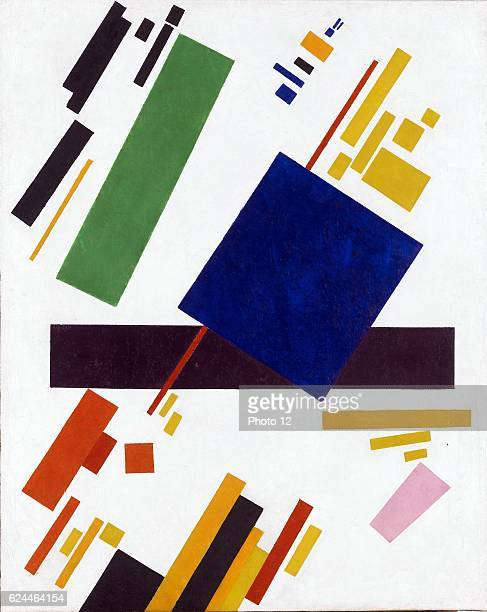 Kazimir Malevich Russian school Suprematist Composition Oil on canvas