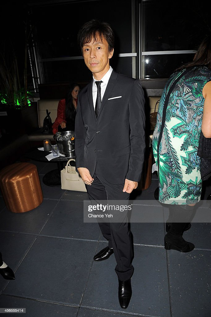Kazumasa Kawasaki Sensei attends Sensei Kasumasa Kawasaki Reception at Empire Hotel on October 2 2014 in New York City