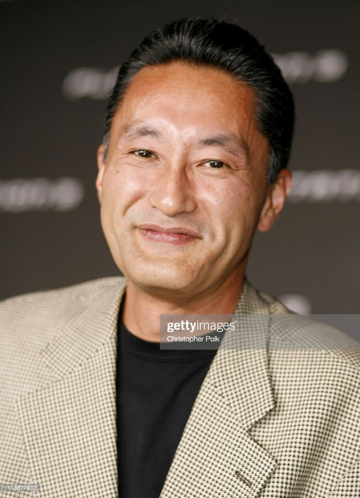 <a gi-track='captionPersonalityLinkClicked' href=/galleries/search?phrase=Kazuo+Hirai&family=editorial&specificpeople=2377874 ng-click='$event.stopPropagation()'>Kazuo Hirai</a> during PLAYSTATION 3 Launch - Red Carpet at 9900 Wilshire Blvd. in Los Angeles, California, United States.