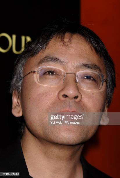 Kazuo Ishiguro arrives for the UK film premiere of 'The White Countess' at the Curzon Mayfair central London Sunday 19 March 2006 PRESS ASSOCIATION...