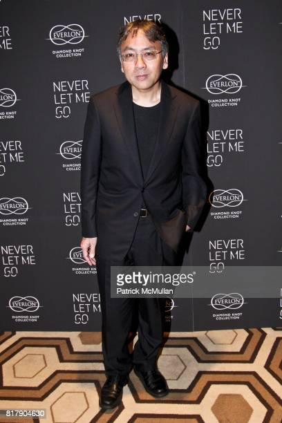 Kazuo Ishiguro attends Never Let Me Go Special Screening at Tribeca Grand Hotel on September 14 2010 in New York City