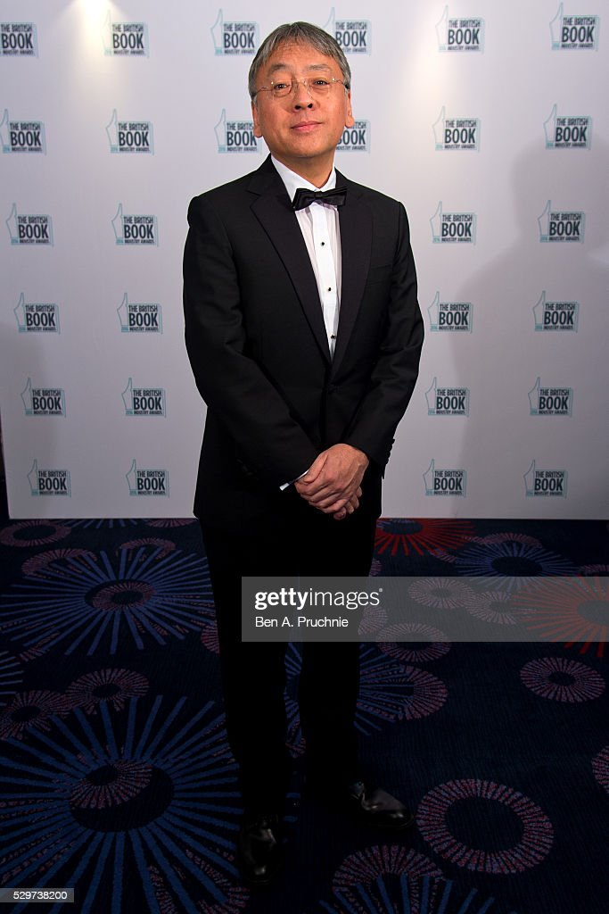 Kazuo Ishiguro attends the 2016 British Book Industry Awards at the Grosvenor House Hotel on May 9, 2016 in London, England.
