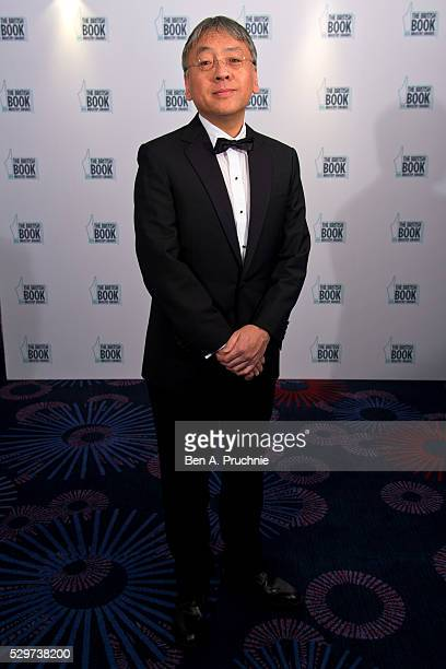 Kazuo Ishiguro attends the 2016 British Book Industry Awards at the Grosvenor House Hotel on May 9 2016 in London England