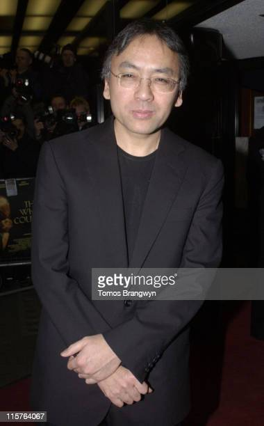 Kazuo Ishiguro during 'The White Countess' London Premiere Arrivals at Curzon Mayfair in London Great Britain