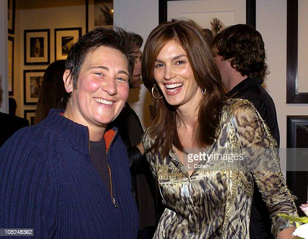 kd lang and Cindy Crawford reminise about their famous Vanity Fair cover shoot with Herb Ritts