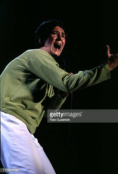 kd Lang during kd lang in Concert at Jones Beach 1996 at Jones Beach Theater in Wantagh New York United States