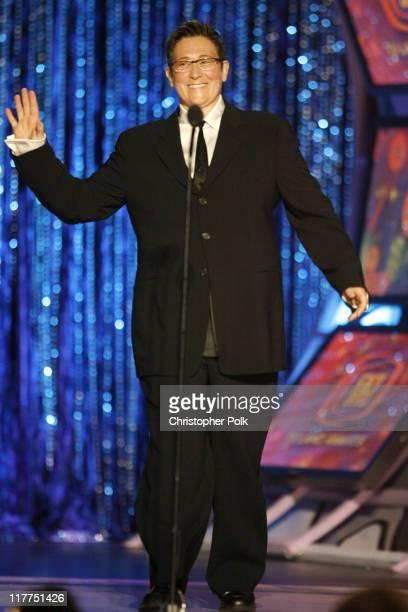kd lang presenter during 5th Annual TV Land Awards Show at Barker Hangar in Santa Monica California United States