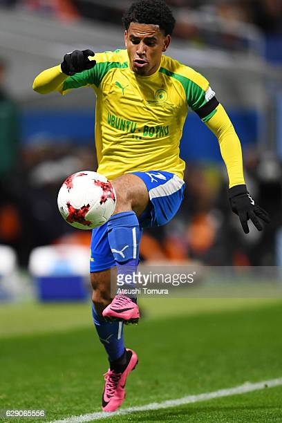 Keagan Dolly of Mamelodi Sundowns controls the ball during the FIFA World Cup Quarter Final match between Mamelodi Sundowns and Kashima Antlers at...
