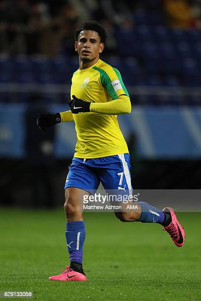 Keagan Dolly of Mamelodi Sundowns in action during the FIFA Club World Cup Quarter Final match between Mamelodi Sundowns and Kashima Antlers at Suita...