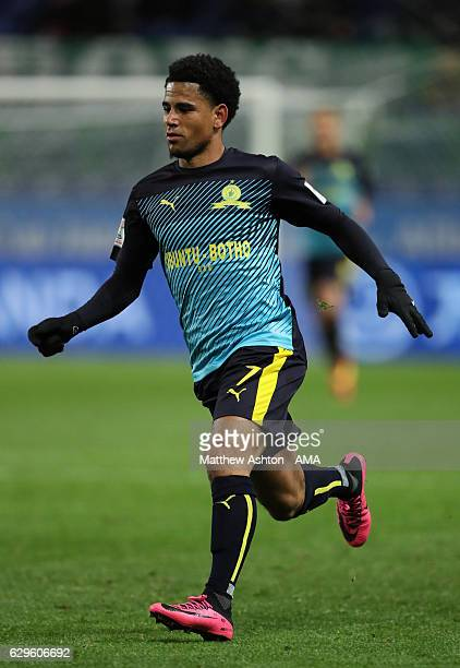 Keagan Dolly of Mamelodi Sundowns in action during the FIFA Club World Cup 5th Place match between Jeonbuk Hyundai and Mamelodi Sundowns at Suita...