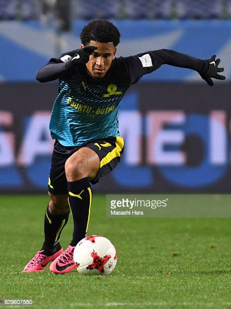 Keagan Dolly of Mamelodi Sundowns in action during the FIFA Club World Cup 5th Place Match between Jeonbuk Hyundai Moters and Mamelodi Sundowns at...