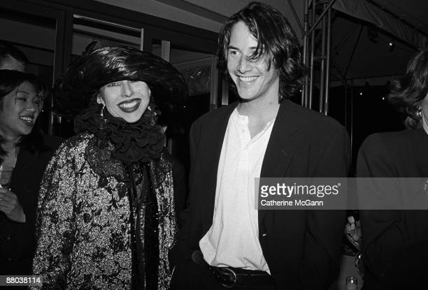 Keanu Reeves at a party for Kenneth Branagh's film version of Shakespeare's 'Much Ado About Nothing' in May 1993 in New York City New York Reeves...