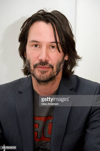 Keanu Reeves at the 'John Wick Chapter 2' Press Conference at the London Hotel on January 27 2017 in West Hollywood California