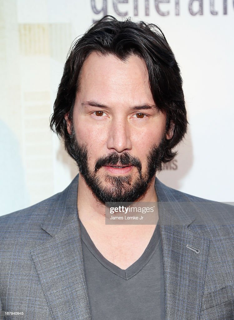 <a gi-track='captionPersonalityLinkClicked' href=/galleries/search?phrase=Keanu+Reeves&family=editorial&specificpeople=171568 ng-click='$event.stopPropagation()'>Keanu Reeves</a> attends GenArt And Phase 4 Films Present 'Generation Um' Los Angeles Premiere held at the ArcLight Hollywood on May 2, 2013 in Hollywood, California.