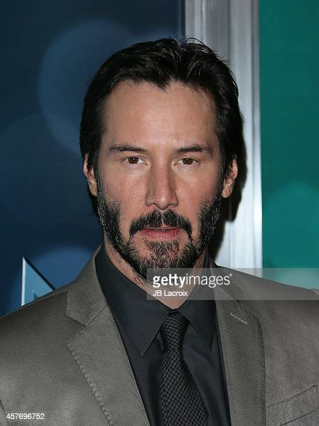 Keanu Reeves attends Summit Entertainment's premiere of 'John Wick' at the ArcLight Theater on October 22 2014 in Hollywood California