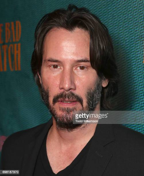 Keanu Reeves attends the premiere Of Neon's 'The Bad Batch' at Resident on June 19 2017 in Los Angeles California