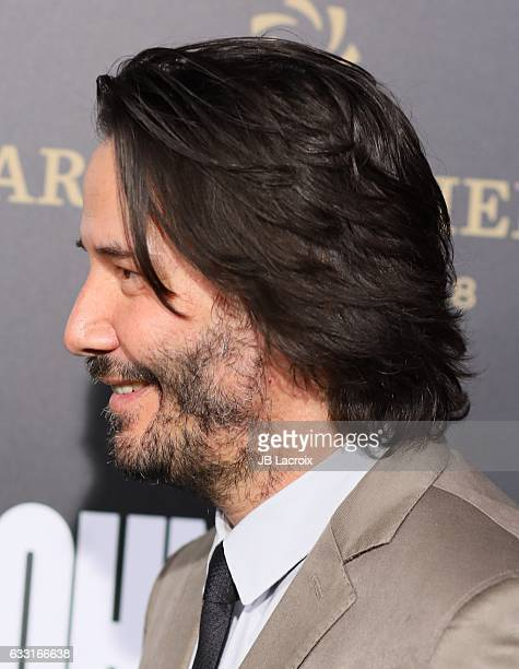 Keanu Reeves attends the premiere of Summit Entertainment's 'John Wick Chapter Two' on January 30 2017 in Hollywood California
