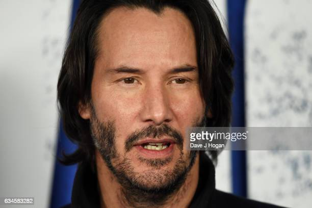 Keanu Reeves attends the UK gala screening of 'John Wick Chapter Two' at Vue West End on February 10 2017 in London England
