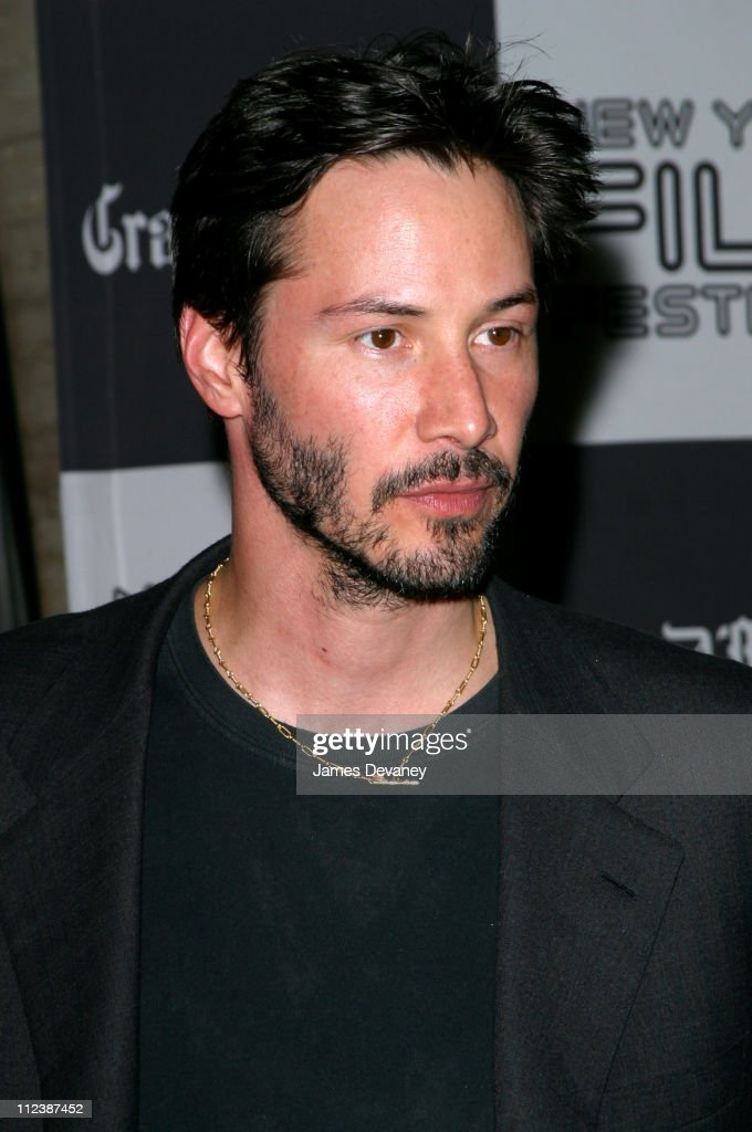 Keanu Reeves during 40th New York Film Festival - Opening Night - 'About Schmidt ' Premiere at Avery Fisher Hall, Lincoln Center in New York, New York, United States.
