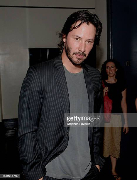 Keanu Reeves during Amanda de Cadenet Photography Exhibit Opening Sponsored by Nikon at Staley Wise Gallery in New York City New York United States