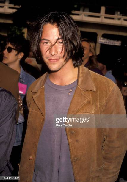 Keanu Reeves during 'Bill Ted's Bogus Journey' Hollywood Premiere at Hollywood Palladium in Hollywood California United States