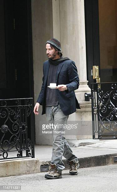 Keanu Reeves during Keanu Reeves Sighting in New York City October 23 2006 at Chelsea in New York City New York United States