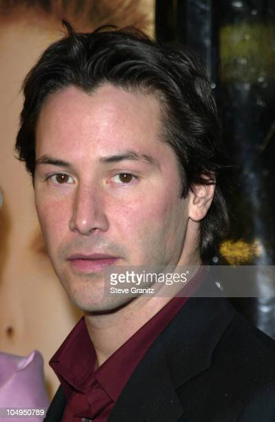 Keanu Reeves during Sweet November Premiere at Bruin Theatre in Westwood California United States