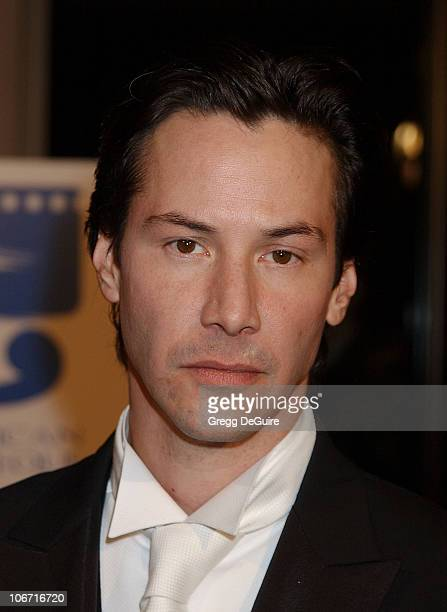 Keanu Reeves during The 17th Annual American Cinematheque Award Honoring Denzel Washington at Beverly Hilton Hotel in Beverly Hills California United...