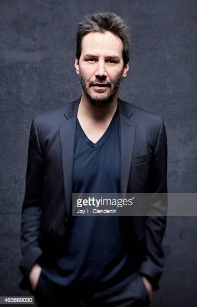 Keanu Reeves is photographed for Los Angeles Times at the 2015 Sundance Film Festival on January 24 2015 in Park City Utah PUBLISHED IMAGE CREDIT...