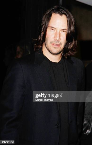 Keanu Reeves is seen in Manhattan on November 16 2009 in New York City