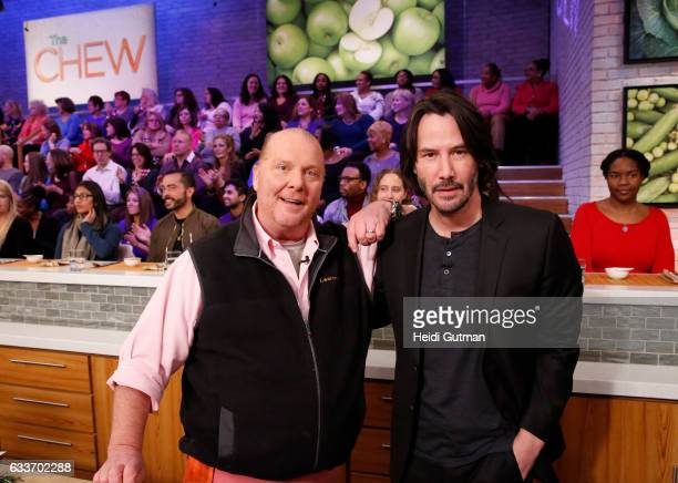 THE CHEW Keanu Reeves is the guest Monday February 6 2017 on ABC's 'The Chew' 'The Chew' airs MONDAY FRIDAY on the ABC Television Network REEVES