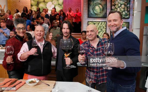 THE CHEW Keanu Reeves is the guest Monday February 6 2017 on ABC's 'The Chew' 'The Chew' airs MONDAY FRIDAY on the ABC Television Network KELLY
