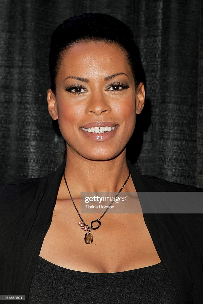 Kearran Giovanni attends the CNN 's 'A New Way of Life Reentry Project' 15th annual fundraising gala at Omni Los Angeles Hotel on December 8, 2013 in Los Angeles, California.
