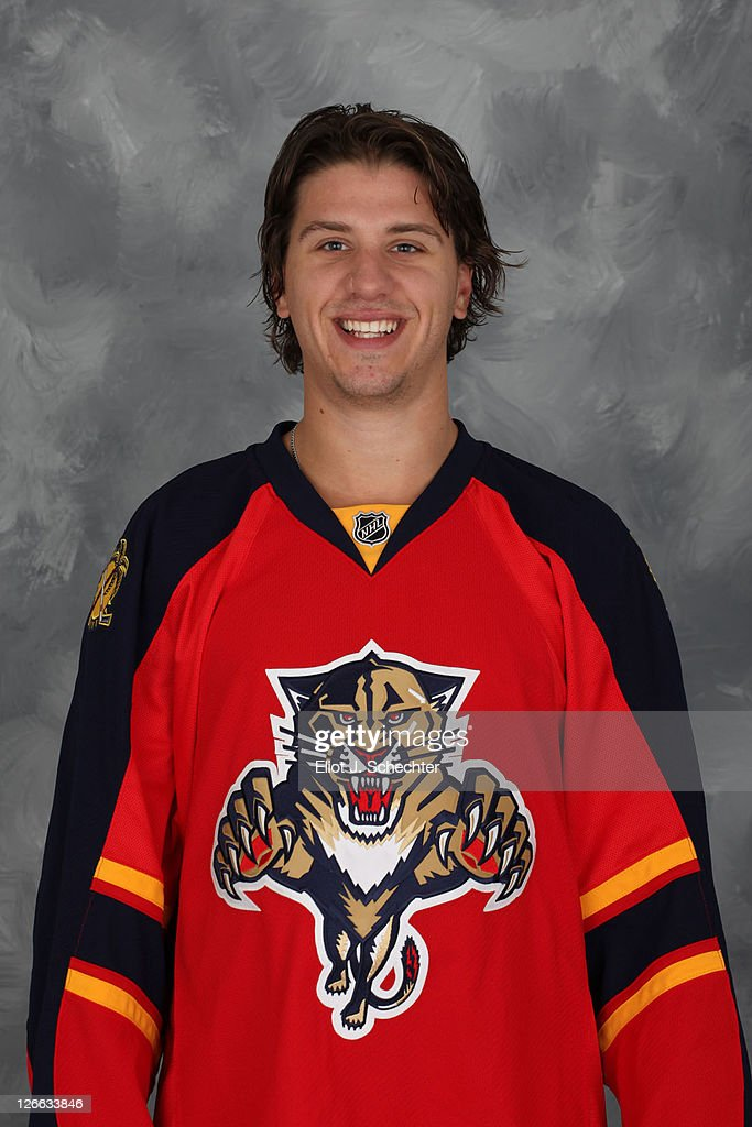 Keaton Ellerby of the Florida Panthers poses for his official headshot for the 2011-2012 NHL season September 16, 2011 in Coral Springs, Florida.
