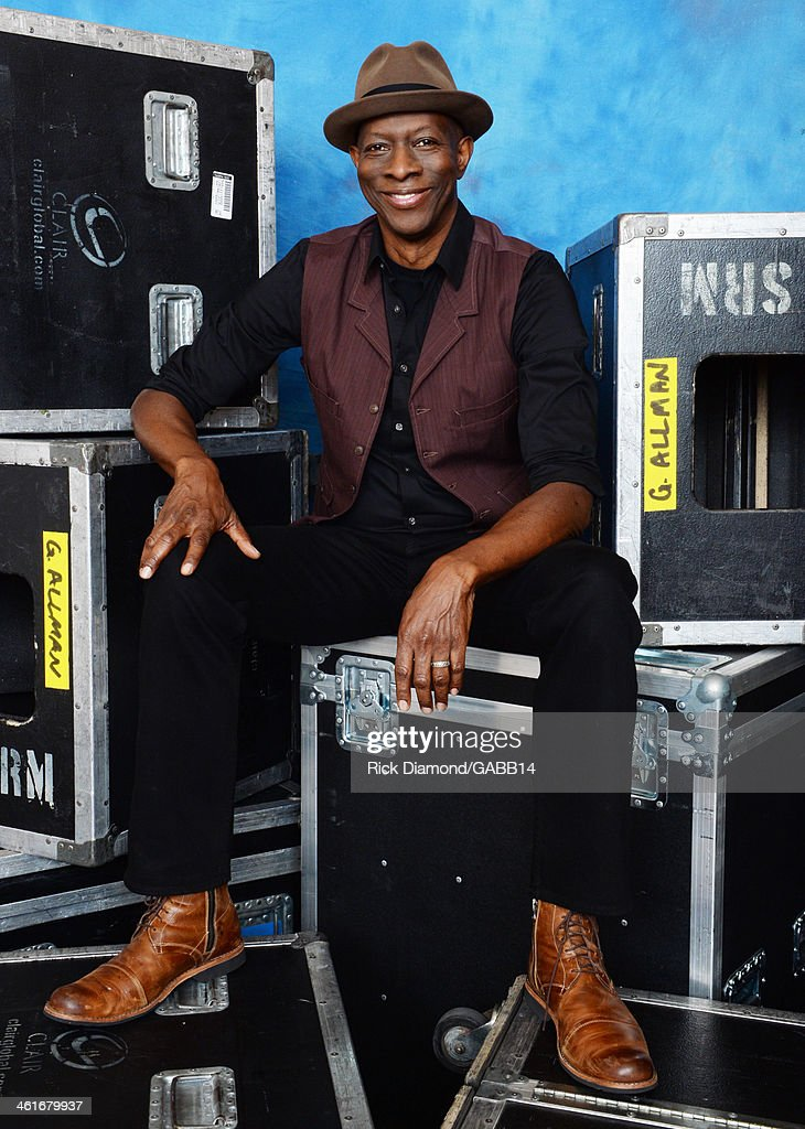 Keb' Mo' poses for a portrait at All My Friends: Celebrating the Songs & Voice of Gregg Allman at The Fox Theatre on January 10, 2014 in Atlanta, Georgia.
