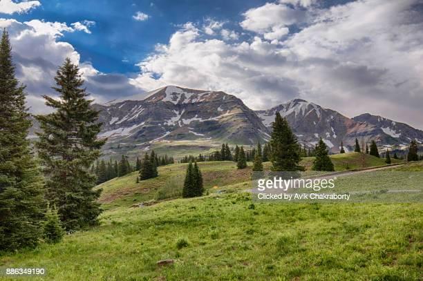 Kebler Pass Rocky Mountains Colorado, USA