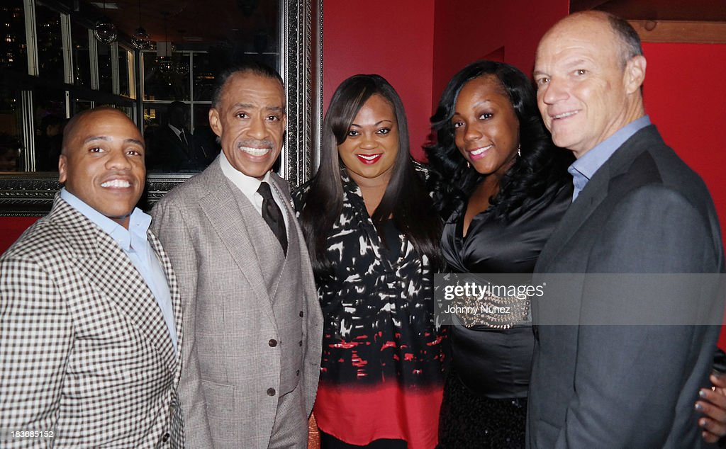 Kedar Massenburg, <a gi-track='captionPersonalityLinkClicked' href=/galleries/search?phrase=Al+Sharpton&family=editorial&specificpeople=202250 ng-click='$event.stopPropagation()'>Al Sharpton</a>, Ashley Sharpton, Dominique Sharpton and Phil Griffin attend Reverend <a gi-track='captionPersonalityLinkClicked' href=/galleries/search?phrase=Al+Sharpton&family=editorial&specificpeople=202250 ng-click='$event.stopPropagation()'>Al Sharpton</a> 'Rejected Stone: <a gi-track='captionPersonalityLinkClicked' href=/galleries/search?phrase=Al+Sharpton&family=editorial&specificpeople=202250 ng-click='$event.stopPropagation()'>Al Sharpton</a> And The Path To American Leadership' Book Reception at Stage 48 on October 8, 2013 in New York City.