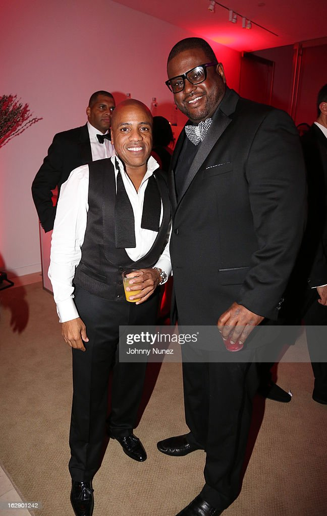 Kedar Massenburg and Don Pooh celebrate Kedar Massenburg's 50th birthday at Water Fall Mansion on February 28, 2013 in New York City.