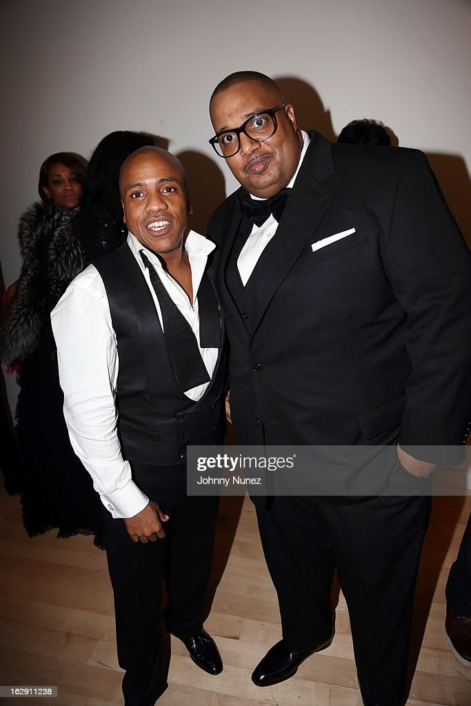 Kedar Massenburg and John Cohen celebrate Kedar Massenburg's 50th birthday at Water Fall Mansion on February 28, 2013 in New York City.